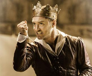 Jude Law stars as Henry V JOHAN PERSSON