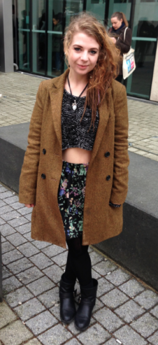Natalie shows us how you can rock the midriff trend whatever the weather