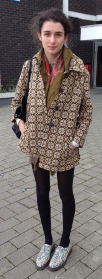 Frances shows us how to mix and match high street with charity shop