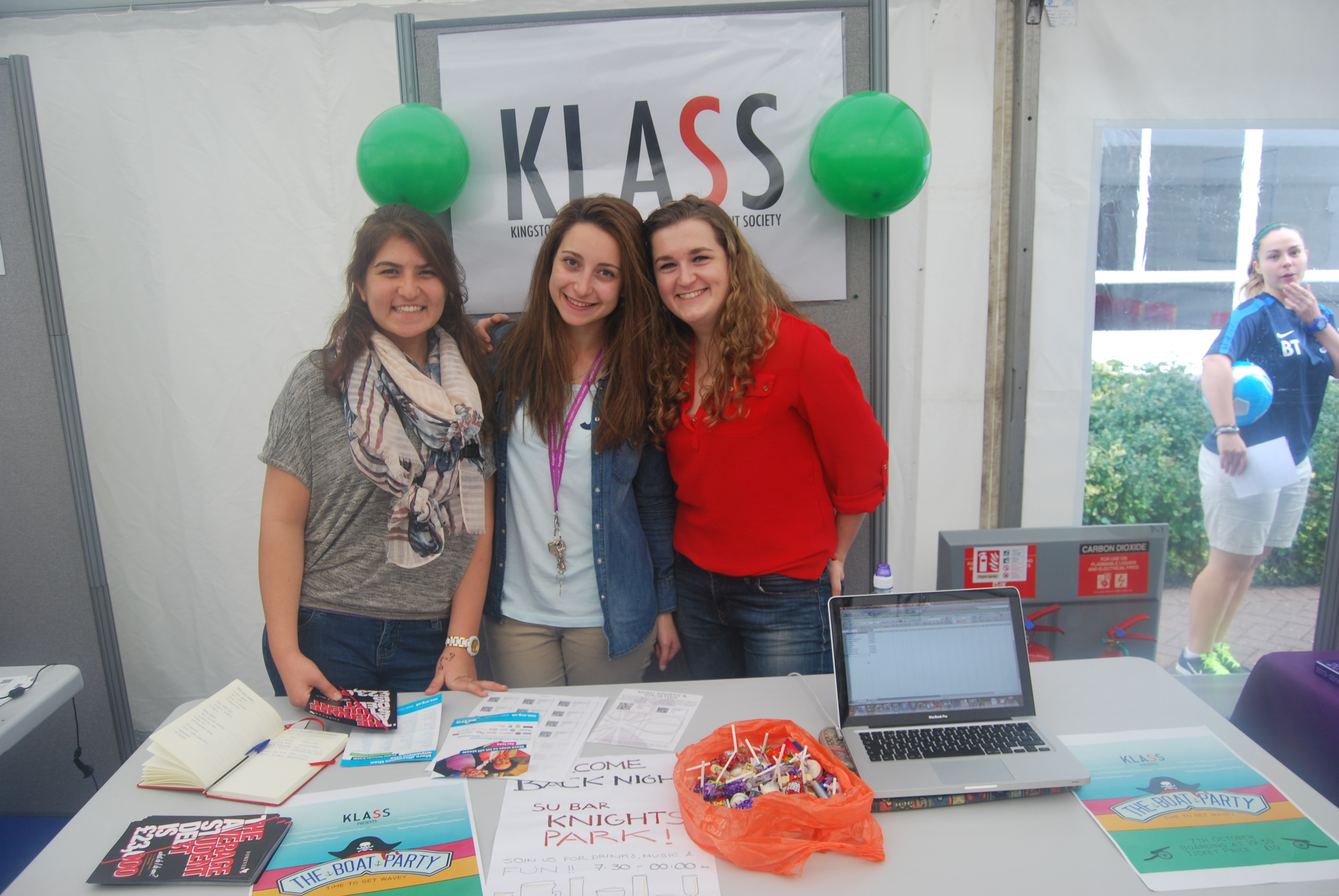 Kingston Landscape and Architecture Student Society (KLASS) eagerly recruited new students