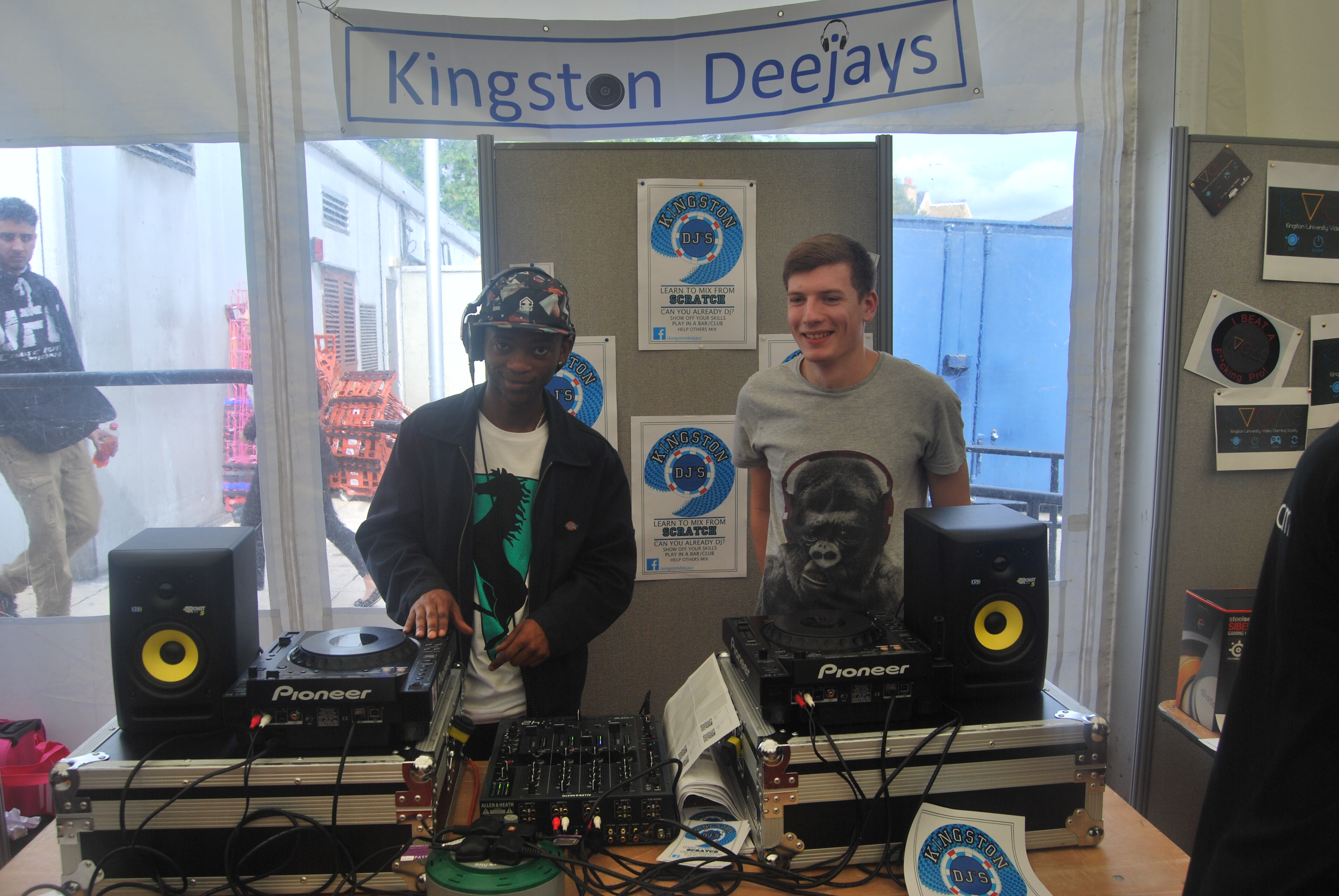 Kingston Deejays kept everyone entertained