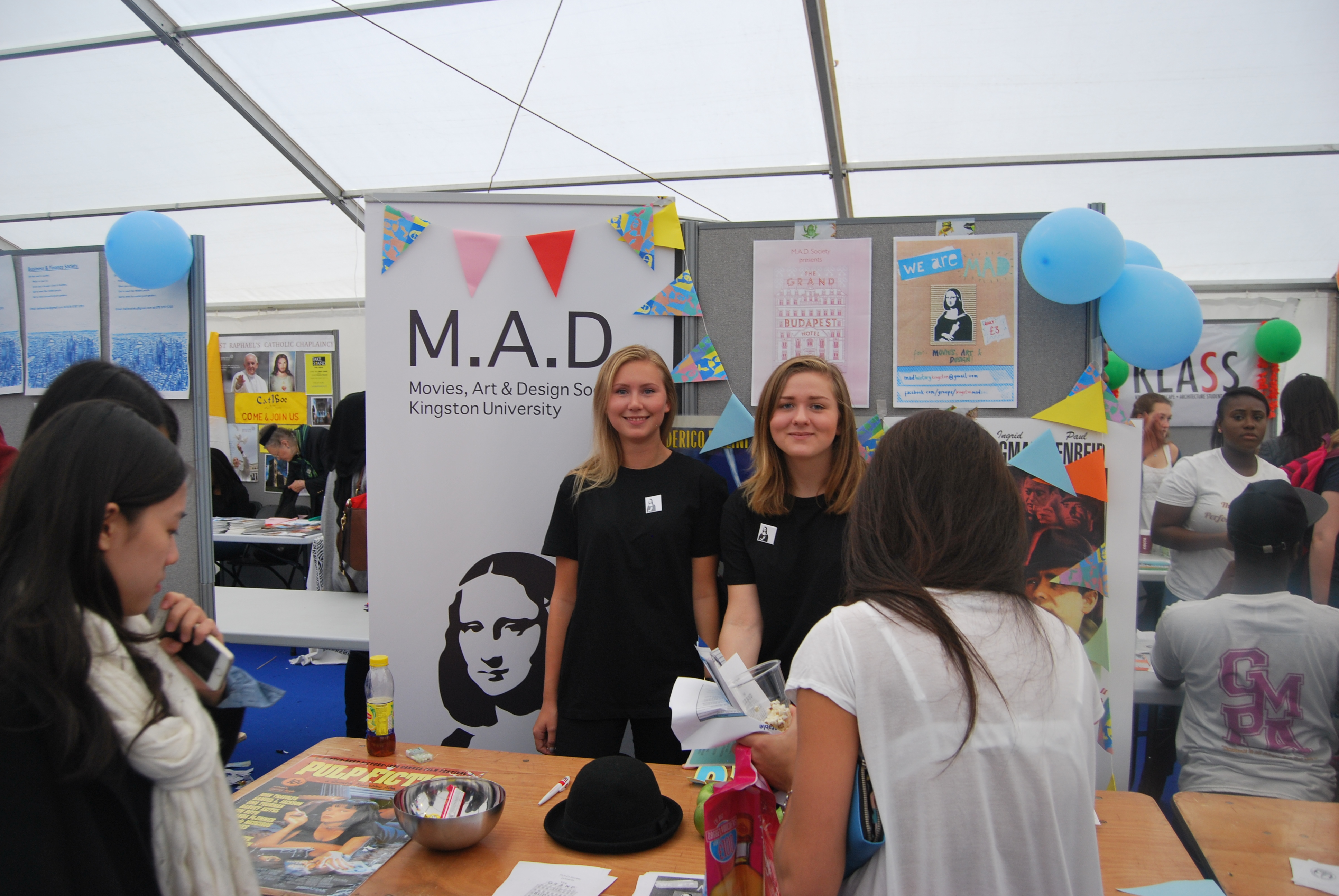 MADness: Movies, Art and Design Society recruiting students