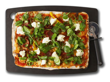 the Francesco Mazzei Calabrese pizza is a favourite