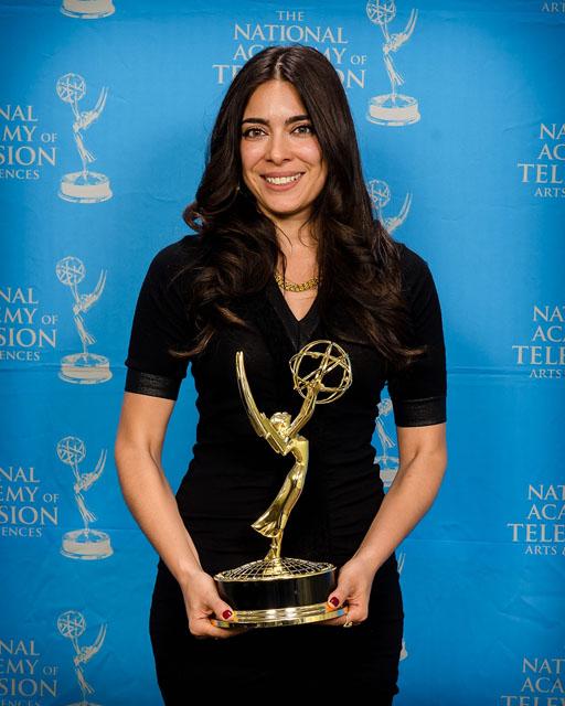 Ramita Navai wins an Emmy