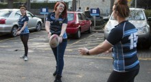 KU women's rugby team set to appear on TV