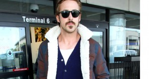 Ryan Gosling at LAX airport, Los Angeles, America - 15 Nov 2014