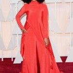 Solange Knowles in Christian Siriano. Photo: Getty