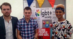 LGBT society at Fresher's Fayre [Image Credit: LGBT Society]