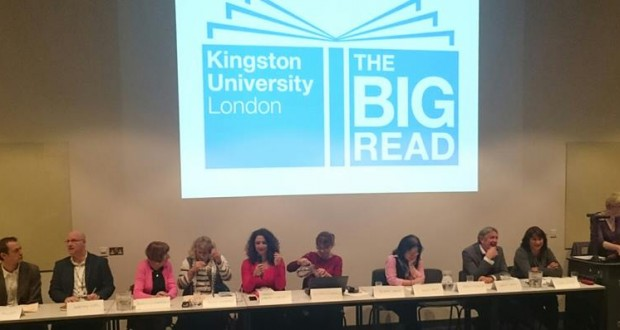 From the left: James Miller, Martyn Keen, Sheila Leatherdale, Tessa Goddard, Shereen N. Gebara, Victoria Perselli, Bonnie Greer, Anna Cheah, Dermot Brady, Susan Watson and Alison Bavertock