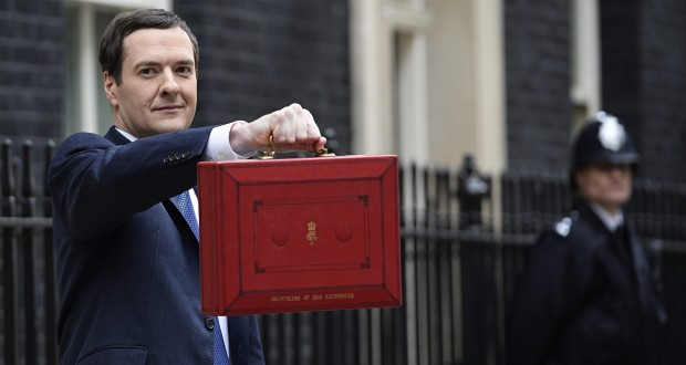The Chancellor announced his Budget last July. Picture: Facundo Arrizabalaga/EPA