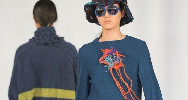 The fashion department had their catwalk debut at the Royal Albert Hall this year. Picture: Kingston University