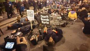 Laying dead for Syria