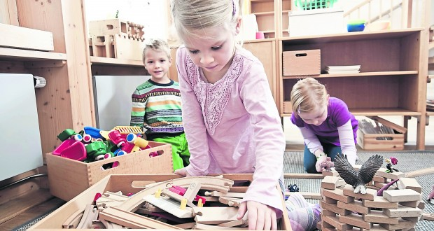 Families all over the country are being affected by the rise in nursery fees                                                       (photo: REX)