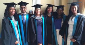 Kingston University BME summer graduates