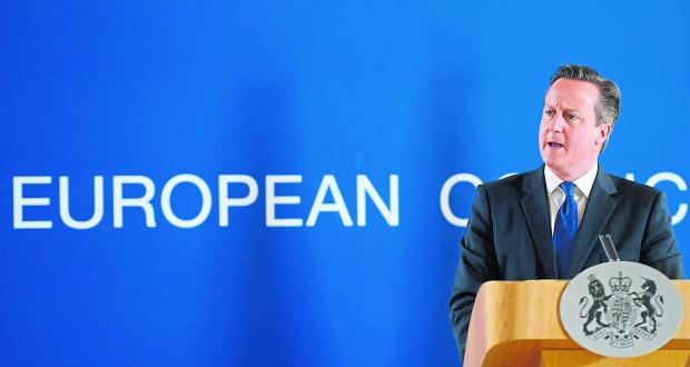 Mandatory Credit: Photo by Isopix/REX/Shutterstock (4885026t) David Cameron EU summit meeting, Brussels, Belgium - 26 Jun 2015