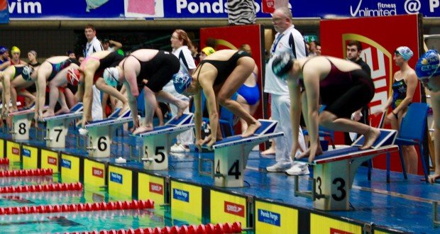 Luiza Lage - lane 4, 50m freestyle