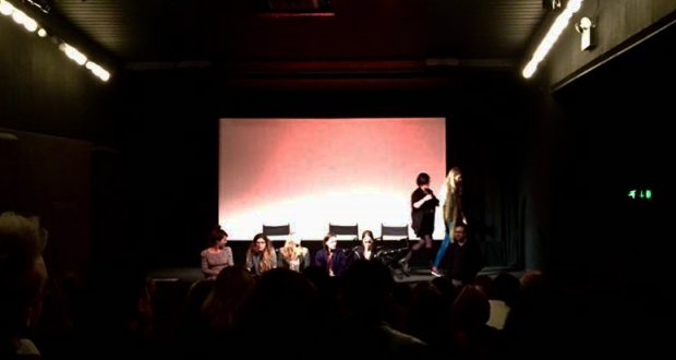 Image of the set up for the ICA screening