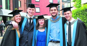 KU students at their graduation. Photo Credit: Diogo Correia