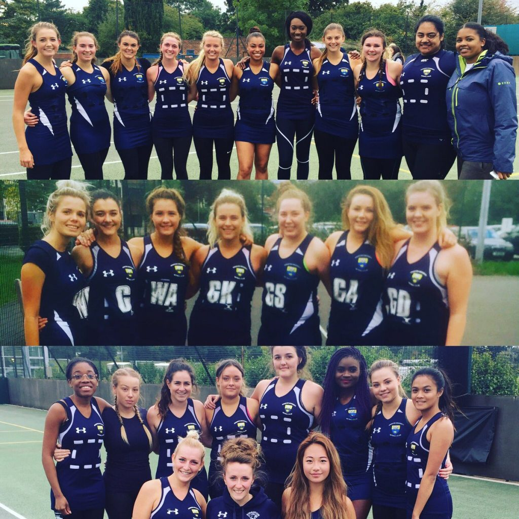 KU's netball teams completed the clean sweep on Wednesday Photo: @KUNetball