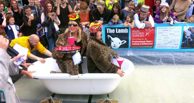 The Annual Surbiton Ski Sunday is held on the 16th of October at St Mark's Hill. Photo: Idha Toft Valeur