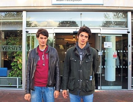 Stefan Ghinea, 19 and Enver Rasid, 18 at Penrhyn Road by Kotryna Budriute