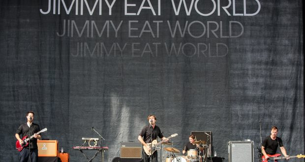 Mandatory Credit: Photo by Danny Payne/REX/Shutterstock (4081277ad) Jimmy Eat World Leeds Festival, Britain - 23 Aug 2014