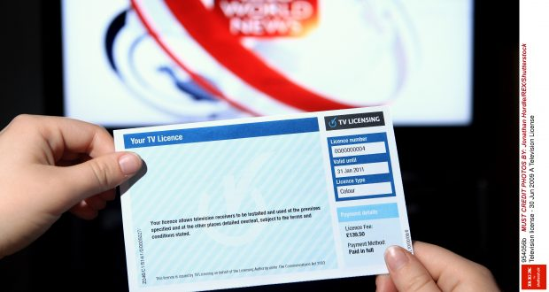 Mandatory Credit: Photo by Jonathan Hordle/REX/Shutterstock (954056b) A Television License Television license - 30 Jun 2009