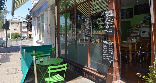 Enjoy seating outside Orindi's Deli Cafe Photo credit: Jayne Solovey