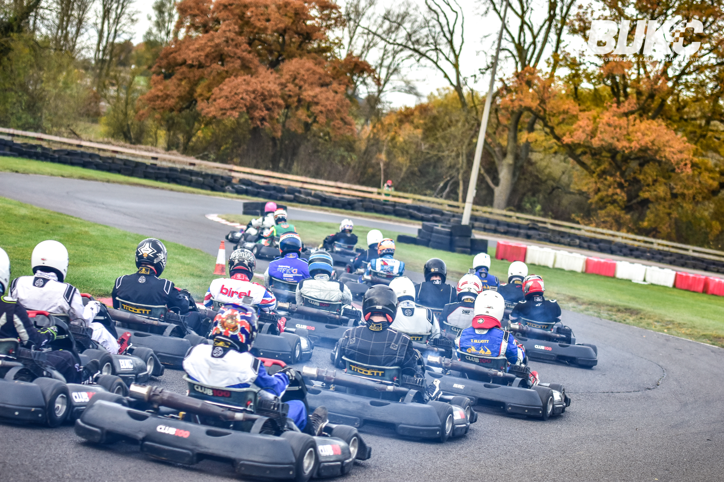Drivers speeding on the Whilton Mill track Photo by Stu Stretton/ BUKC
