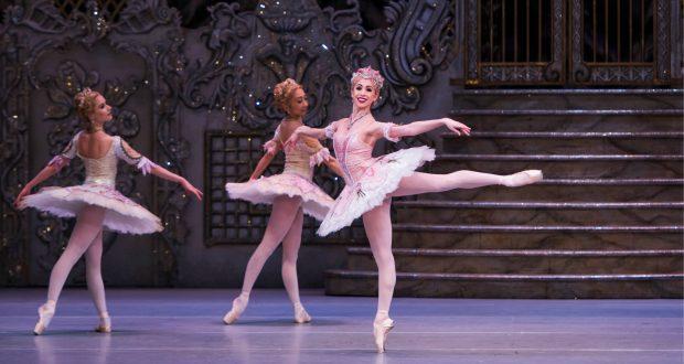 Yasmine Naghdi as the Rose Fairy @ Royal Opera House. ©Tristram Kenton 12/15