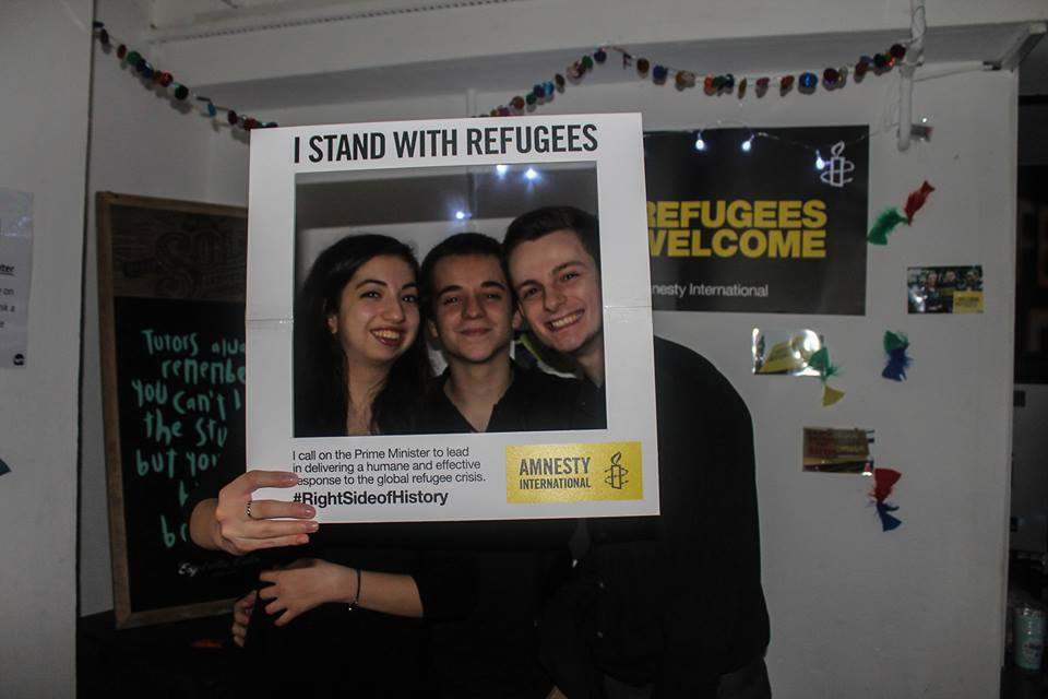 Amnesty international hoped to raise plenty of money for the Syrian refugee crisis Photo credit: Yasemin Gava