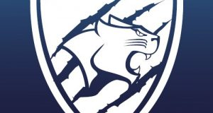 The KU Cougar's logo