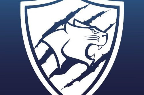 The KU Cougar's logo