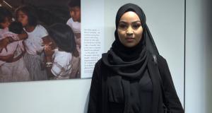 KU hijabi students model their style