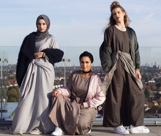 Latest Anosha's collection called Avyaana X Modesty Street Style