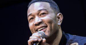 John Legend performing new album in New York, Nov 16 Photo credit: Rex Features