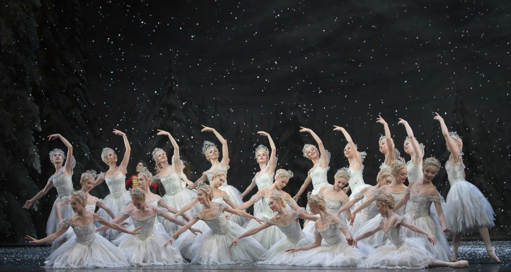 Artists of the Royal Ballet in The Nutcracker. Photo: Alastair Muir/Rex Features