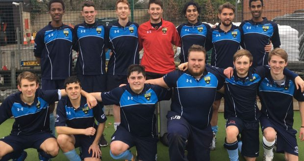 KU Men's Hockey Team won 3-1 against Reading University. Photo Credit: Josh Barron