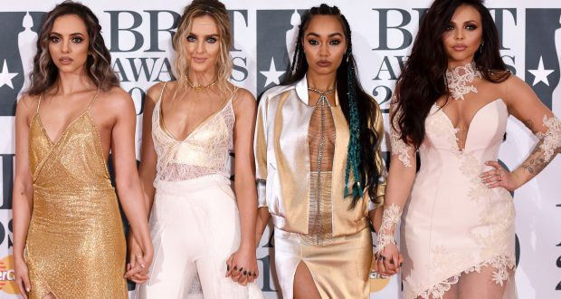 Little Mix could go home with one of 3 of their nominations this year. Photo by David Fisher/REX/Shutterstock
