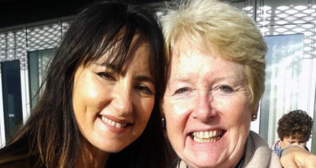 Alison Baverstock with songwriter KT Tunstall.