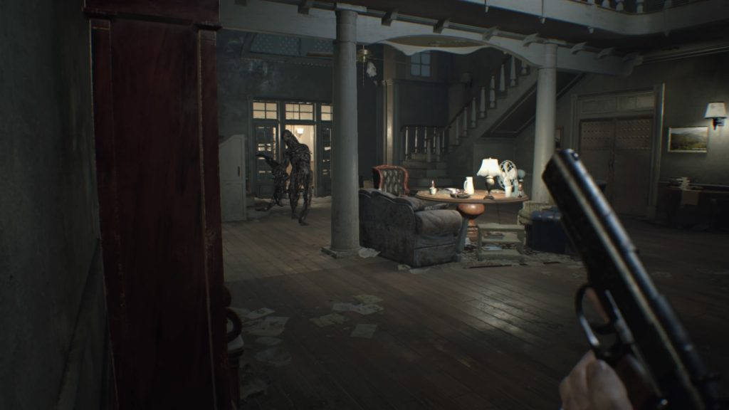 Resident Evil goes back to its roots with this scary but fun survival horror game. Photo Credit: Capcom