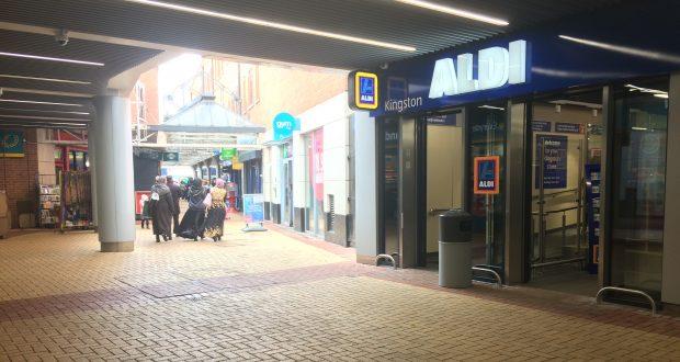 Aldi opened its doors in Kingston on February 16th. Credit: Shani Kotecha