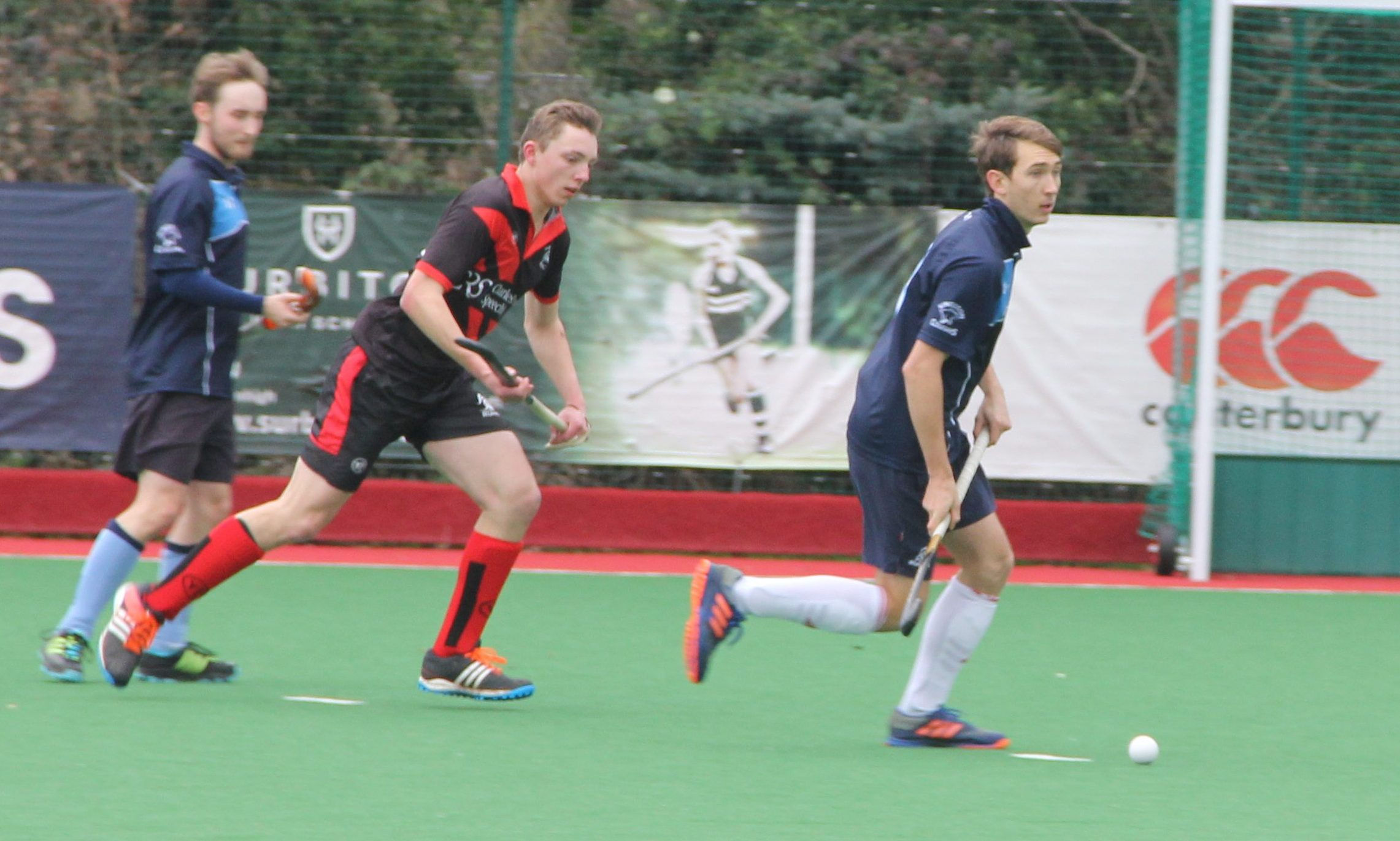Will Calnan running past defenders with ease. Photo: Soile Ntutu