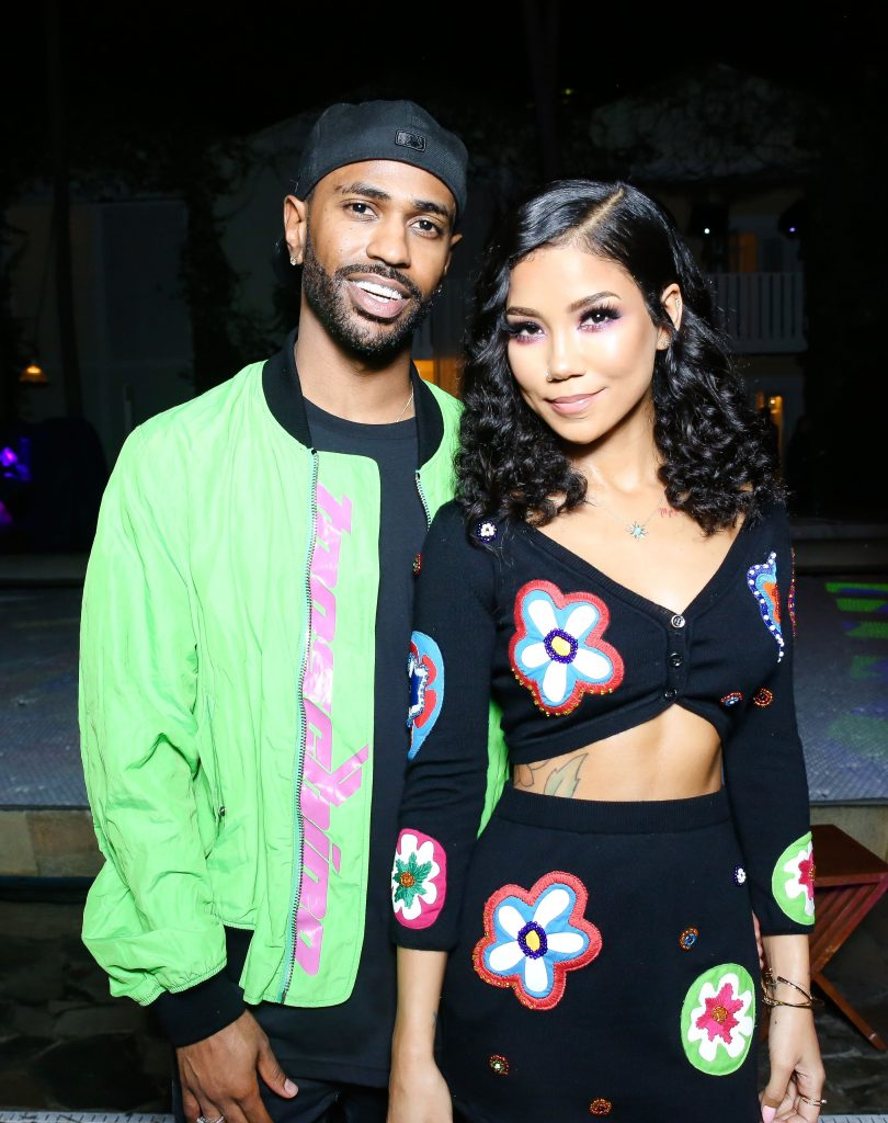 Jhene and Sean at the Moschino event looking loved up. Photo by Sam