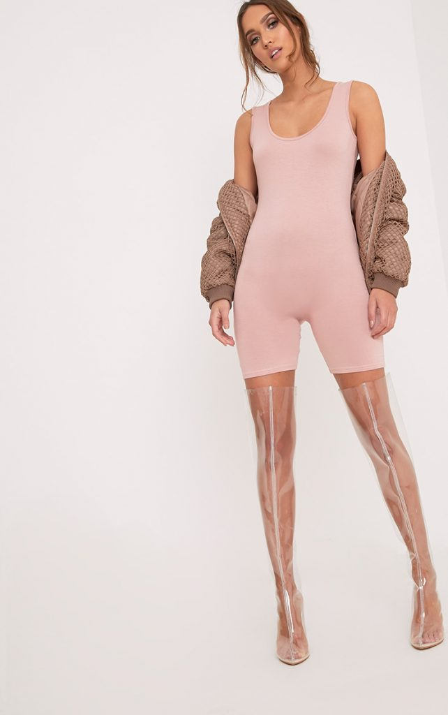Instagram models are always wearing skintight playsuits/jumpsuits Photo: PrettyLittleThing.com