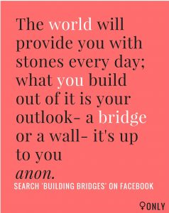 Building Bridges Poster Photo Credit: Facebook