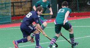 Kingston's hockey team won the league after beating Royal Holoway 1-0 Photo: Michael Lloyd