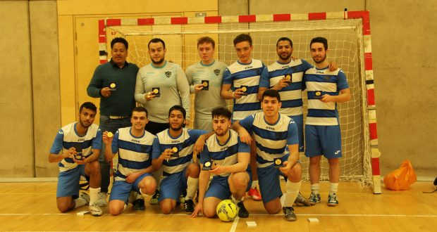 Kingston University's team posing with their cup medals. Photo Credit: Michael Lloyd