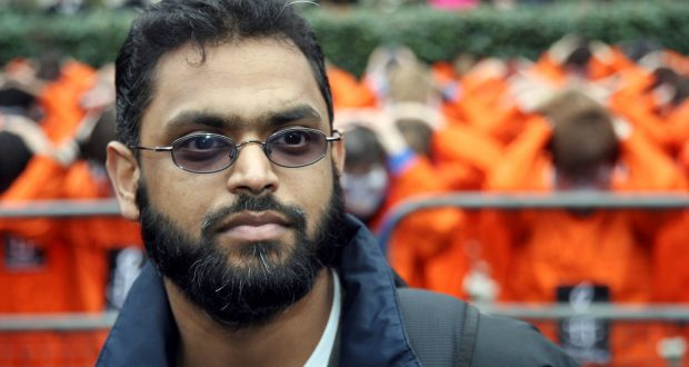 Moazzam Begg was detained at Guantanamo Bay in 2002. Photo Credit: Rex Features