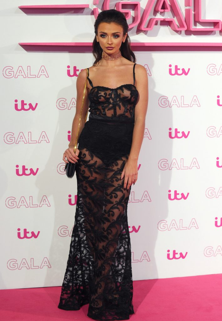 Kady at the National Television Awards, where Love Island was nominated for best reality show. Photo: Rex Features